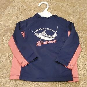 Janie and Jack Marlin Fishing Rash Guard Shirt